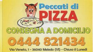 Peccati di Pizza - Consegna a domicilio - Meledo